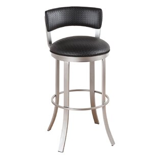 Albion 26 Swivel Bar Stool Ivy Bronx