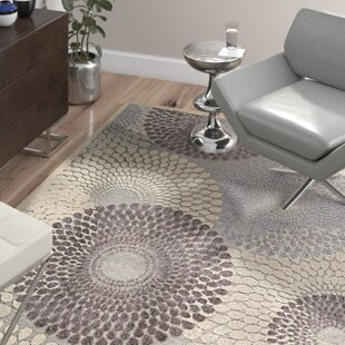 Price comparison Cangelosi Gray Area Rug By Wade Logan