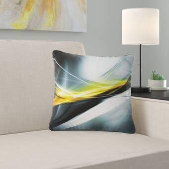 East Urban Home Abstract Elegant Color Pattern Pillow Wayfair