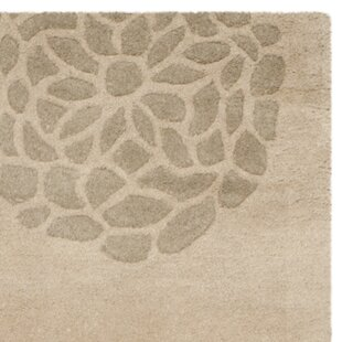 Buy clear Kenney Hand-Tufted Wool Beige Area Rug By August Grove