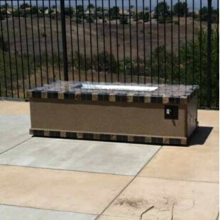 Kokomo Grills Entertainer Concrete Gas Fire Pit Table