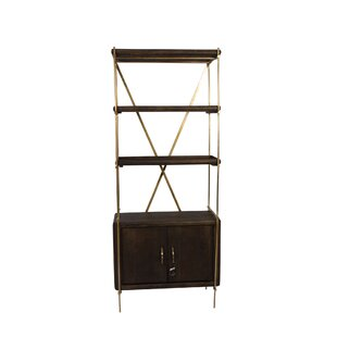 Townson Metal Etagere Bookcase By Canora Grey