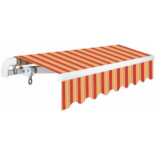 S Slim Series 12 ft. W x 10 ft. D Retractable Patio Awning by Advaning