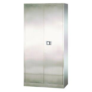 Stainless Steel 2 Door Storage..