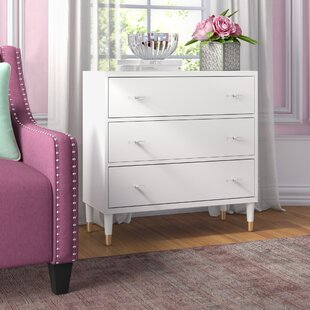 Tifton Modern 3 Drawer Accent Chest