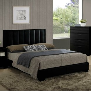 Wildon Home ® Moderno Upholstered Panel Bed