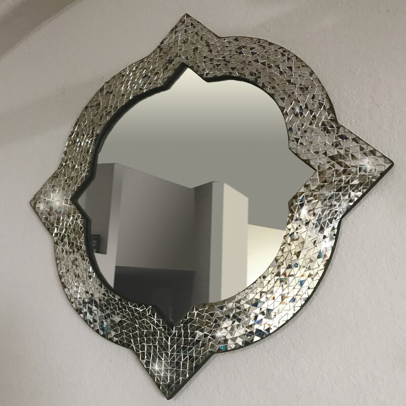 Bloomsbury Market Quatrefoil Contemporary Accent Mirror Reviews Wayfair