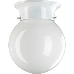 Quorum Ball Semi Flush Mount