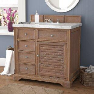 Read Reviews Osmond 36 Single Driftwood Bathroom Vanity Set ByGreyleigh