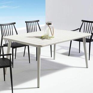 Metal Dining Table by Brayden Studio