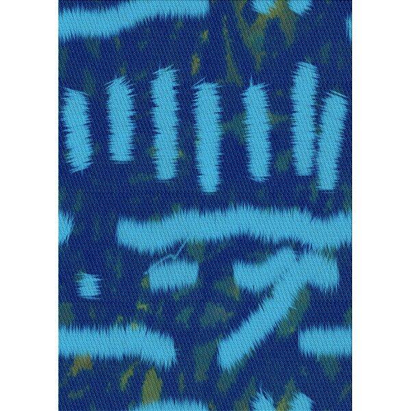 East Urban Home Eckles Wool Blue Area Rug Wayfair