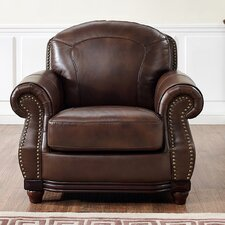 Connersville Leather Club Chair by Darby Home Co