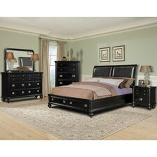 Brandy Panel Customizable Bedroom Set by Klaussner Furniture