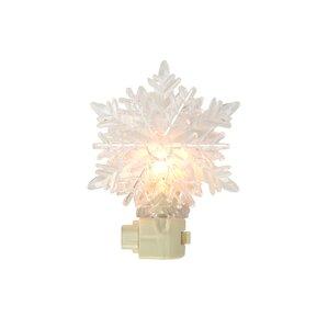 Snowy Winter Decorative Snowflake Christmas Night Light