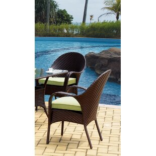 Spooner Bahia Wicker Bistro Table