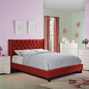 Price comparison Nora Upholstered Platform Bed by Darby Home Co Reviews (2019) & Buyer's Guide