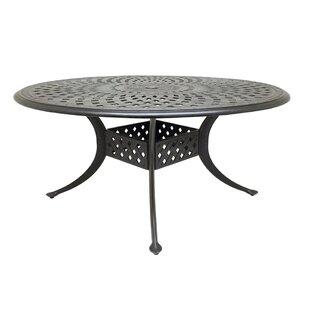 Campion Cast Aluminum Dining Table