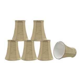 Modern 4'' Fabric Bell Lamp Shade (Set of 6)