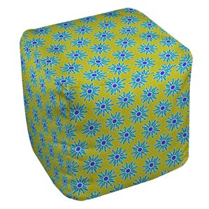 La Roque Summer Starburst Ottoman by Manual Woodworkers & Weavers
