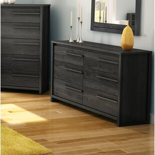 Tao 6 Drawer Double Dresser