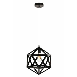 Affordable Price Mullings 1-Light Pendant By Wrought Studio