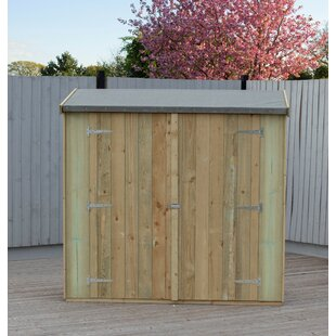 6 Ft. W X 3 Ft. D Wood Garden Shed By WFX Utility