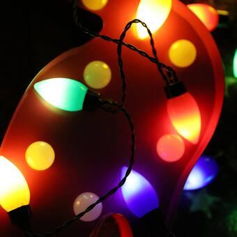 The Holiday Aisle Kasper 23 5 Ft 50 Light Novelty String Light Wayfair