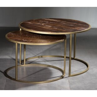Daxton 2 Piece Coffee Table Set by Ivy Bronx
