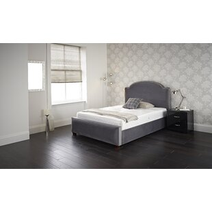 Pond Upholstered Bed Frame By Canora Grey