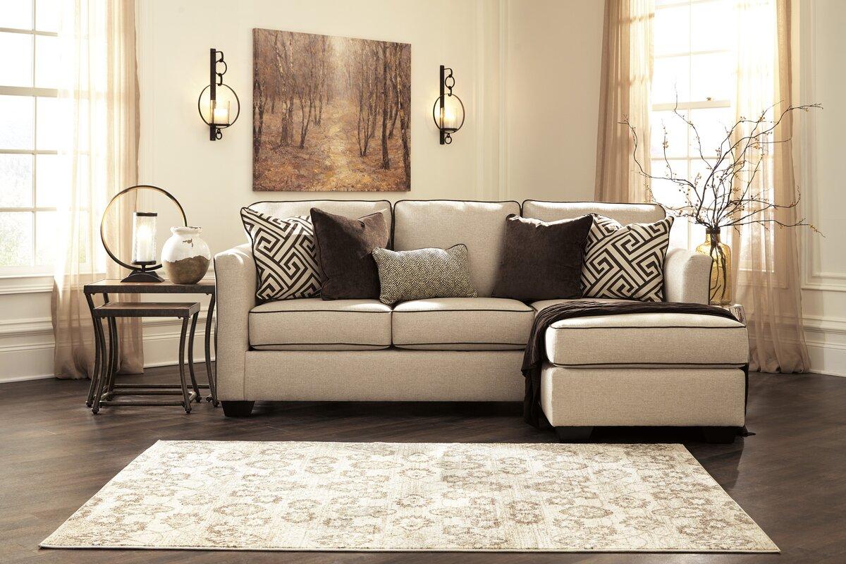 benchcraft carlinworth sofa chaise reviews wayfair