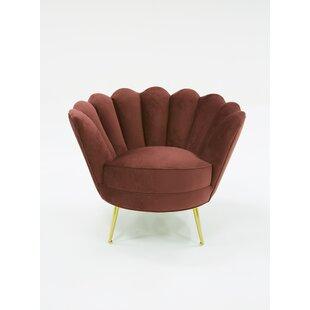 Oak Bluffs Barrel Chair by Everly Quinn