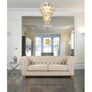 4-Sitzer Sofa Chesterfield von Hazelwood Home
