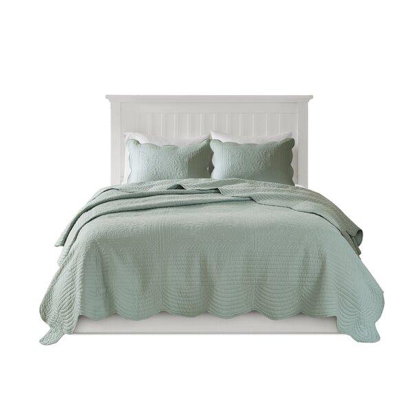 The Pillow Collection Acker Solid Bedding Sham Aquamarine Standard//20 x 26