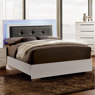 Riddick Upholstered Platform Bed by Orren Ellis Modern