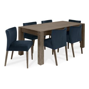 Caserta Extendable Dining Set With 6 Chairs By Ebern Designs