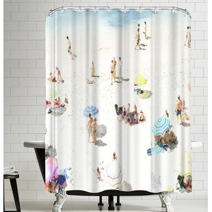 Happy Days Single Shower Curtain