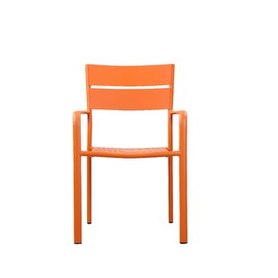 MMI Outdoor Stacking Patio Dining Chair (Set of 6) by Brayden Studio