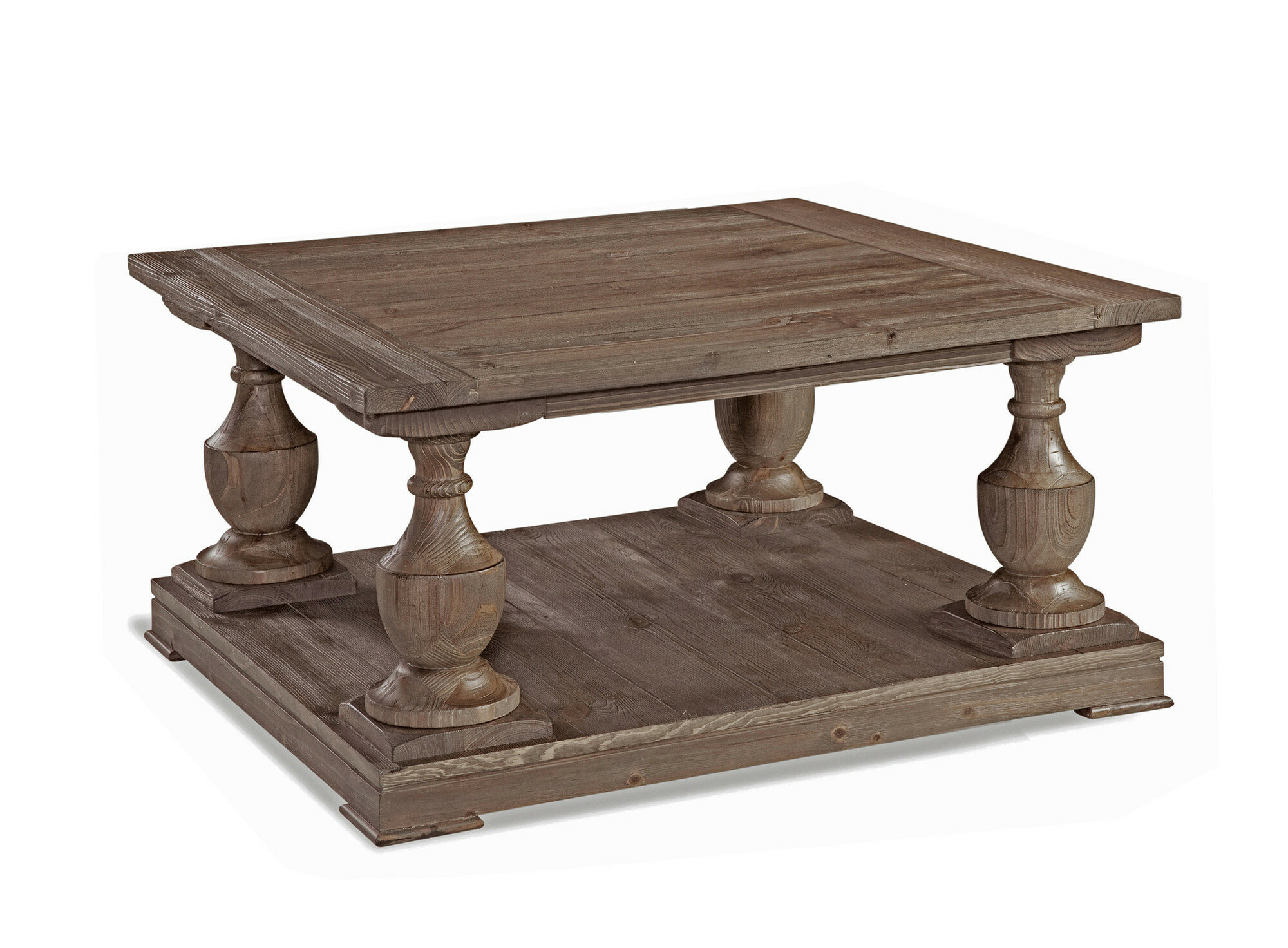 Dustin Floor Shelf Coffee Table With Storage Reviews Joss Main