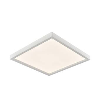 Ebern Designs 1 Light 13 Statement Circle Led Flush Mount Wayfair