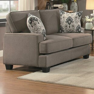 Shop Lucius Transitional Loveseat by Red Barrel Studio