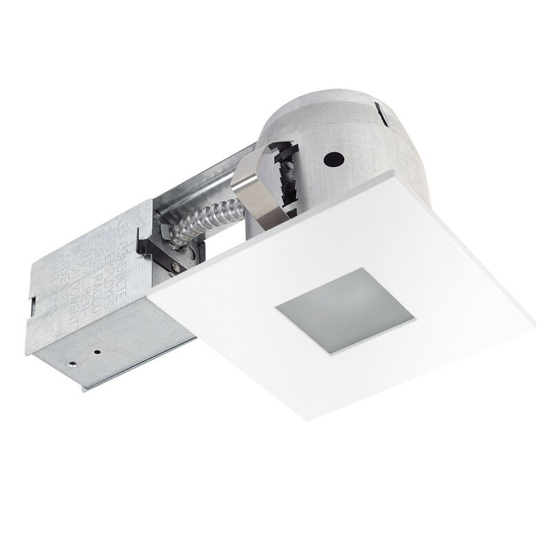 Globe electric company ryanne square panel 4 recessed lighting ryanne square panel 4 recessed lighting kit mozeypictures Gallery