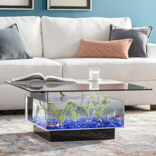 Claire 25 Gallon Coffee Table Aquarium Tank