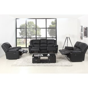 Simpkins Reclining 3 Piece Living Room Set by Latitude Run