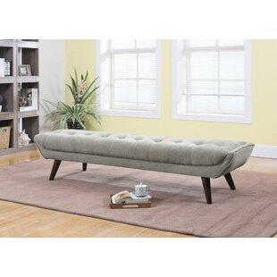 Mercer41 Bromyard Upholstered Bench