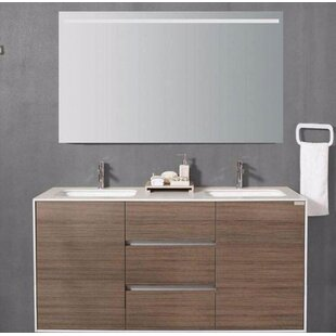 Comparison Ari 59 Double Bathroom Vanity By George Oliver