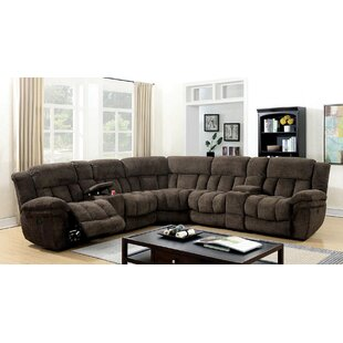 Chemin 133 Symmetrical Reclining Sectional by Ebern Designs