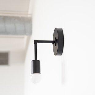 Brayden Studio Doran Handmade 1-Light Armed Sconce