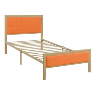 Kliebert Wooden Full Upholstered Panel Bed