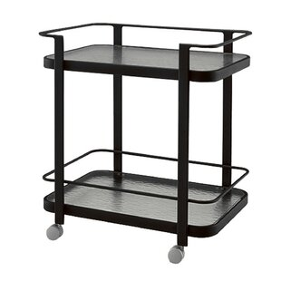 Aluminum Occasional Bar Cart by Woodard