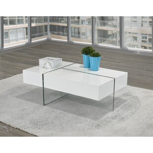 Extendable Coffee Table with Storage by Brassex